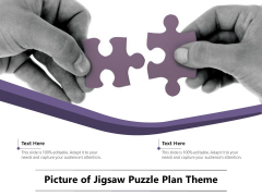 Picture Of Jigsaw Puzzle Plan Theme Ppt PowerPoint Presentation Layouts Slide Download PDF