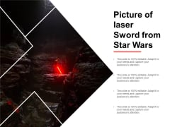 Picture Of Laser Sword From Star Wars Ppt PowerPoint Presentation Layouts Grid
