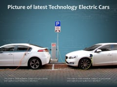 Picture Of Latest Technology Electric Cars Ppt PowerPoint Presentation Summary Files