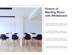 Picture Of Meeting Room With Whiteboard Ppt PowerPoint Presentation Portfolio Pictures