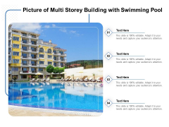 Picture Of Multi Storey Building With Swimming Pool Ppt PowerPoint Presentation Gallery Picture PDF