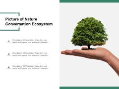 Picture Of Nature Conversation Ecosystem Ppt PowerPoint Presentation Styles Images