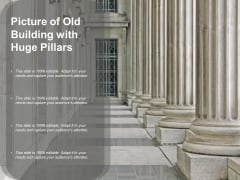 Picture Of Old Building With Huge Pillars Ppt PowerPoint Presentation Inspiration Show