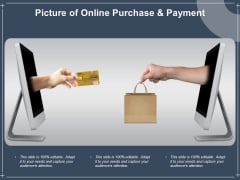 Picture Of Online Purchase And Payment Ppt PowerPoint Presentation Infographics Show