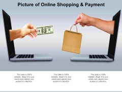 Picture Of Online Shopping And Payment Ppt Powerpoint Presentation Model Maker