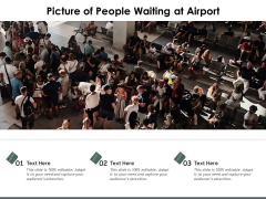 Picture Of People Waiting At Airport Ppt PowerPoint Presentation Gallery Styles PDF