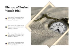 Picture Of Pocket Watch Dial Ppt PowerPoint Presentation Gallery Demonstration PDF