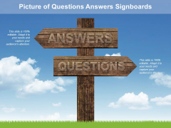 Picture Of Questions Answers Signboards Ppt PowerPoint Presentation Outline Example File