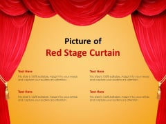 Picture Of Red Stage Curtain Ppt PowerPoint Presentation Inspiration Slide Download