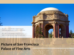 Picture Of San Francisco Palace Of Fine Arts Ppt PowerPoint Presentation Professional Summary PDF