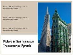 Picture Of San Francisco Transamerica Pyramid Ppt PowerPoint Presentation Slides Example PDF