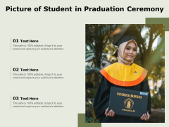 Picture Of Student In Praduation Ceremony Ppt PowerPoint Presentation File Example Topics PDF