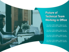 Picture Of Technical Team Working In Office Ppt PowerPoint Presentation Inspiration Example Introduction