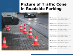 Picture Of Traffic Cone In Roadside Parking Ppt PowerPoint Presentation Layouts Picture PDF