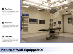 Picture Of Well Equipped OT Ppt PowerPoint Presentation Show Clipart Images PDF
