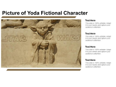 Picture Of Yoda Fictional Character Ppt PowerPoint Presentation Inspiration Slide