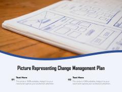 Picture Representing Change Management Plan Ppt PowerPoint Presentation Portfolio Rules PDF