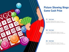 Picture Showing Bingo Game Cash Prize Ppt PowerPoint Presentation File Layouts PDF