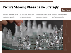 Picture Showing Chess Game Strategty Ppt PowerPoint Presentation Icon Professional PDF