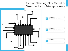 Picture Showing Chip Circuit Of Semiconductor Microprocessor Ppt PowerPoint Presentation Show Visuals PDF