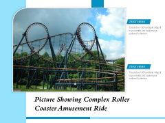 Picture Showing Complex Roller Coaster Amusement Ride Ppt PowerPoint Presentation Gallery Show PDF