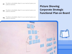 Picture Showing Corporate Strategic Functional Plan On Board Ppt PowerPoint Presentation File Visual Aids PDF