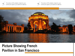 Picture Showing French Pavilion In San Francisco Ppt PowerPoint Presentation Summary Vector PDF