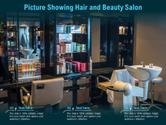 Picture Showing Hair And Beauty Salon Ppt PowerPoint Presentation Inspiration Professional PDF