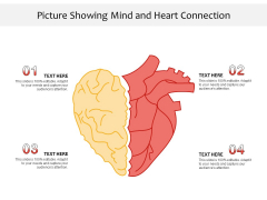Picture Showing Mind And Heart Connection Ppt PowerPoint Presentation Gallery Icon PDF
