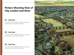 Picture Showing View Of City London And River Ppt PowerPoint Presentation Icon Show PDF