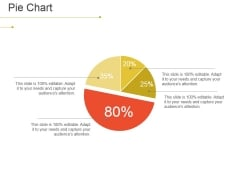Pie Chart Ppt PowerPoint Presentation File Skills