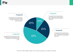 Pie Chart Ppt PowerPoint Presentation Icon Clipart