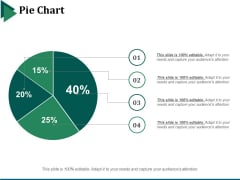 Pie Chart Ppt PowerPoint Presentation Infographic Template Backgrounds