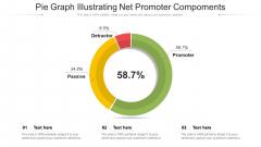 Pie Graph Illustrating Net Promoter Compoments Ppt Outline Mockup PDF