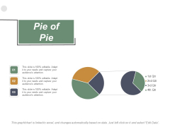 Pie Of Pie Investment Ppt PowerPoint Presentation Inspiration Objects