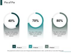 Pie Of Pie Marketing Ppt Powerpoint Presentation Inspiration Designs