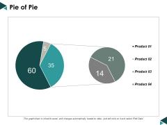 Pie Of Pie Ppt Powerpoint Presentation Infographics Layout Ideas