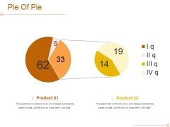 Pie Of Pie Ppt PowerPoint Presentation Portfolio Diagrams