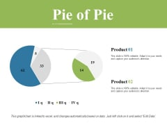 Pie Of Pie Ppt PowerPoint Presentation Styles Graphics Template