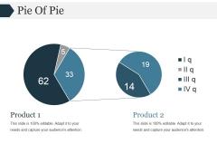 Pie Of Pie Ppt PowerPoint Presentation Topics