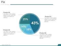 Pie Ppt PowerPoint Presentation Themes