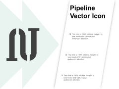 Pipeline Vector Icon Ppt PowerPoint Presentation Styles Infographic Template