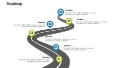 Pitch Deck Draw Initial Capital From Angel Investors Roadmap Icons PDF