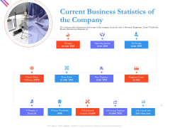 Pitch Deck For Fund Raising From Series C Funding Current Business Statistics Of The Company Template PDF