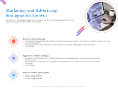 Pitch Deck For Fund Raising From Series C Funding Marketing And Advertising Strategies For Growth Guidelines PDF