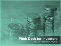 Pitch Deck For Investors Pitch Deck Ppt PowerPoint Presentation Complete Deck With Slides