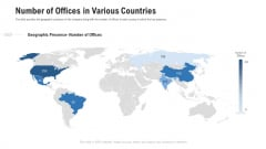 Pitch Deck For Procurement Deal Number Of Offices In Various Countries Ppt Slides Diagrams PDF