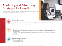 Pitch Deck For Raising Capital For Inorganic Growth Marketing And Advertising Strategies For Growth Brochure PDF
