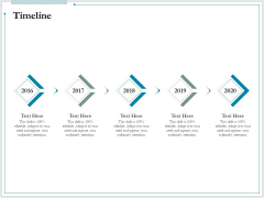 Pitch Deck For Raising Funds From Product Crowdsourcing Timeline Mockup PDF