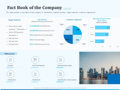 Pitch Deck For Seed Financing Fact Book Of The Company Ppt Icon Example Introduction PDF